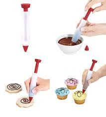 Silicone Chocolate Decorating Pen