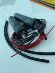 High Quality Jump Rope (2-in 1) 2 Cables Set of 1 Thick and 1 Thin Cable  **(Limited Quantity)**