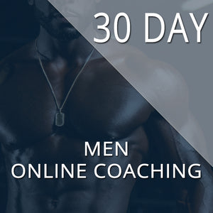 30 DAY KICKSTARTER - TRANSFORMATION PROGRAM - MEN
