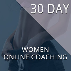 30 DAY KICKSTARTER - TRANSFORMATION PROGRAM - WOMEN