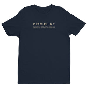 Discipline. Not Motivation. Men's T-Shirt