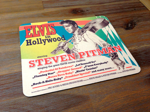Elvis in Hollywood Mousepad