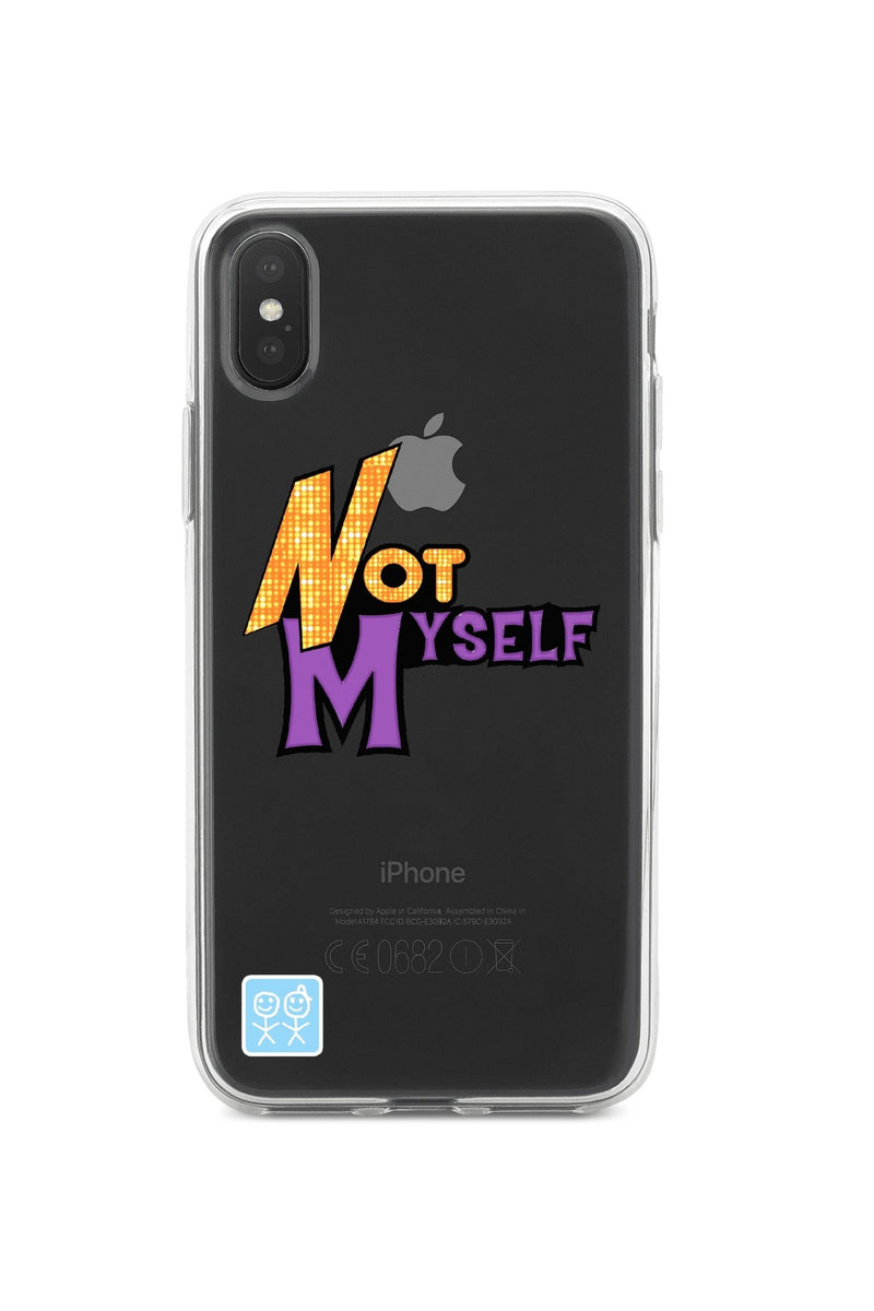 Not Myself iPhone Case - Urban Sophistication