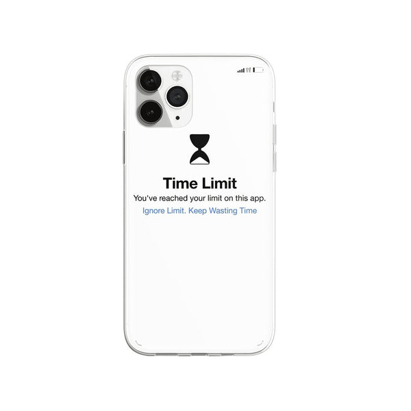 Time Limit iPhone Case - Urban Sophistication