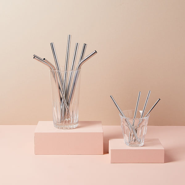 Bent & Extra Wide Smoothie Straws