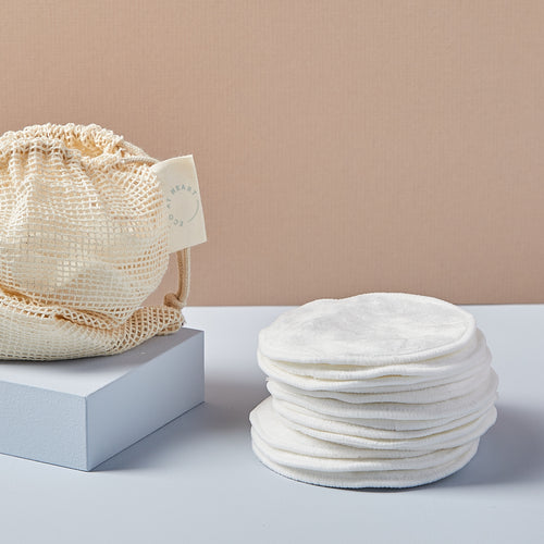 Two-Sided Reusable Makeup Remover Pads