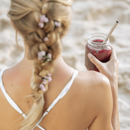 Extra Wide Smoothie Straws