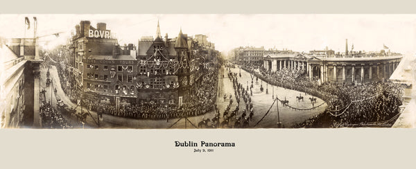 DUBLIN PANORAMA JULY 9, 1911