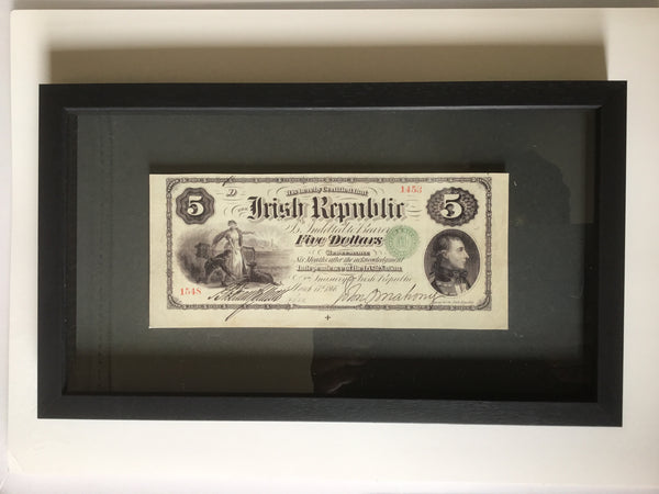 1866 IRISH REPUBLIC REPLICA FENIAN WAR BOND