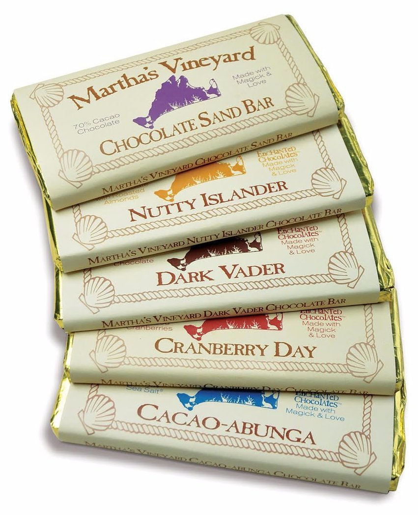 Hand Molded Chocolate Bars - Enchanted Chocolates of Martha's Vineyard