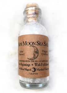 New Moon Sea Salt from Martha's Vineyard - Enchanted Chocolates of Martha's Vineyard