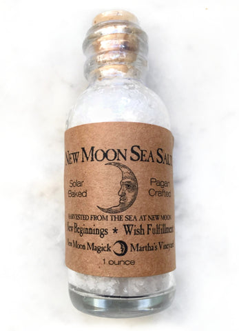 New Moon Sea Salt from Martha's Vineyard