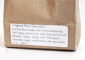 Enchanted Chocolates' Keep It Real Hot Chocolate Mix