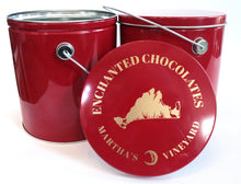 Load image into Gallery viewer, Popcorn Gift Tin - Enchanted Chocolates of Martha's Vineyard