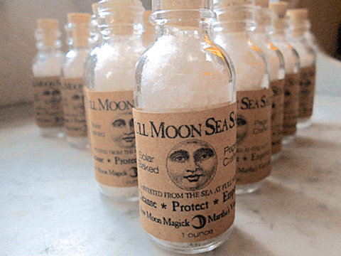 Full Moon Sea Salt Handmade from Martha's Vineyard