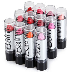 Multicolor Lipsticks with 12pcs Heng Fang  High Quality Balm Water Embellishment - 1Sam Digital