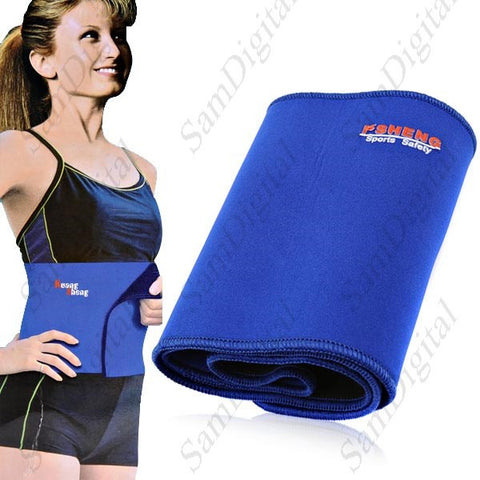 Calories Off Shaper Waist Pad Belt Waist Support Brace Protector