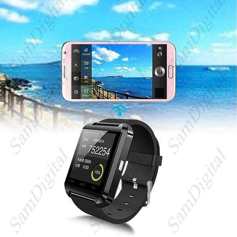 Watch for Android Phone Call/SMS reminder  U8 Bluetooth 4.0 MTK Smart Wearable Device Watch
