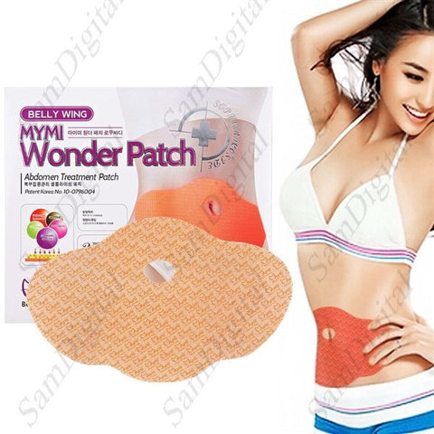 MYMI Wonder Patch Slimming Waist Weight Loss Belly Burning Patch