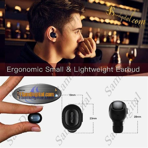 Super Mini Earbud Bluetooth 4.1 QCY Q26 Wireless Earphone