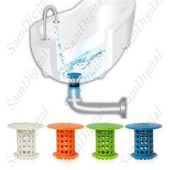 Drain Protector -             Hair Catcher Bathroom Hair Catcher Shower Stall Strainer Snare - 1Sam Digital