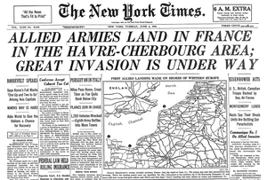 How America woke up on June 6, 1944? 8 D-Day Newspaper Covers