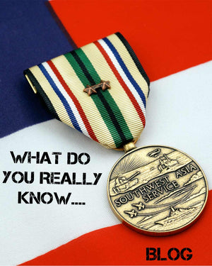 What do you REALLY know about the Southwest Asia Service Medal?