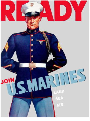 20 Incredible Vintage U.S. Marine Corps Recruiting Posters