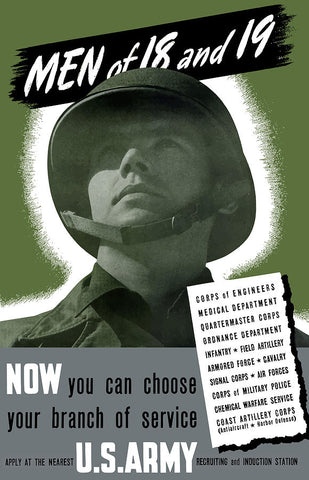 U.S. Army Poster via Pocket Square Heroes
