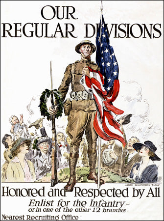 15 Incredible Vintage U.S. Army Recruitment Posters