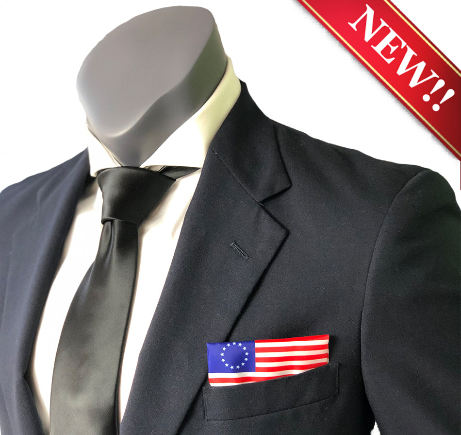 Betsy Ross American Flag Pocket Square Heroes Fox and Friends Pete Hegseth Brian Kilmeade