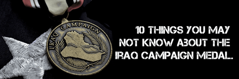 Iraq Campaign Medal what does it symbolize