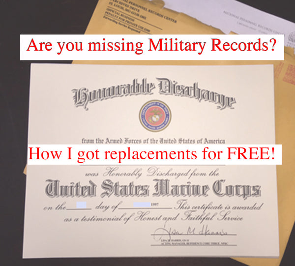 How to get free military records