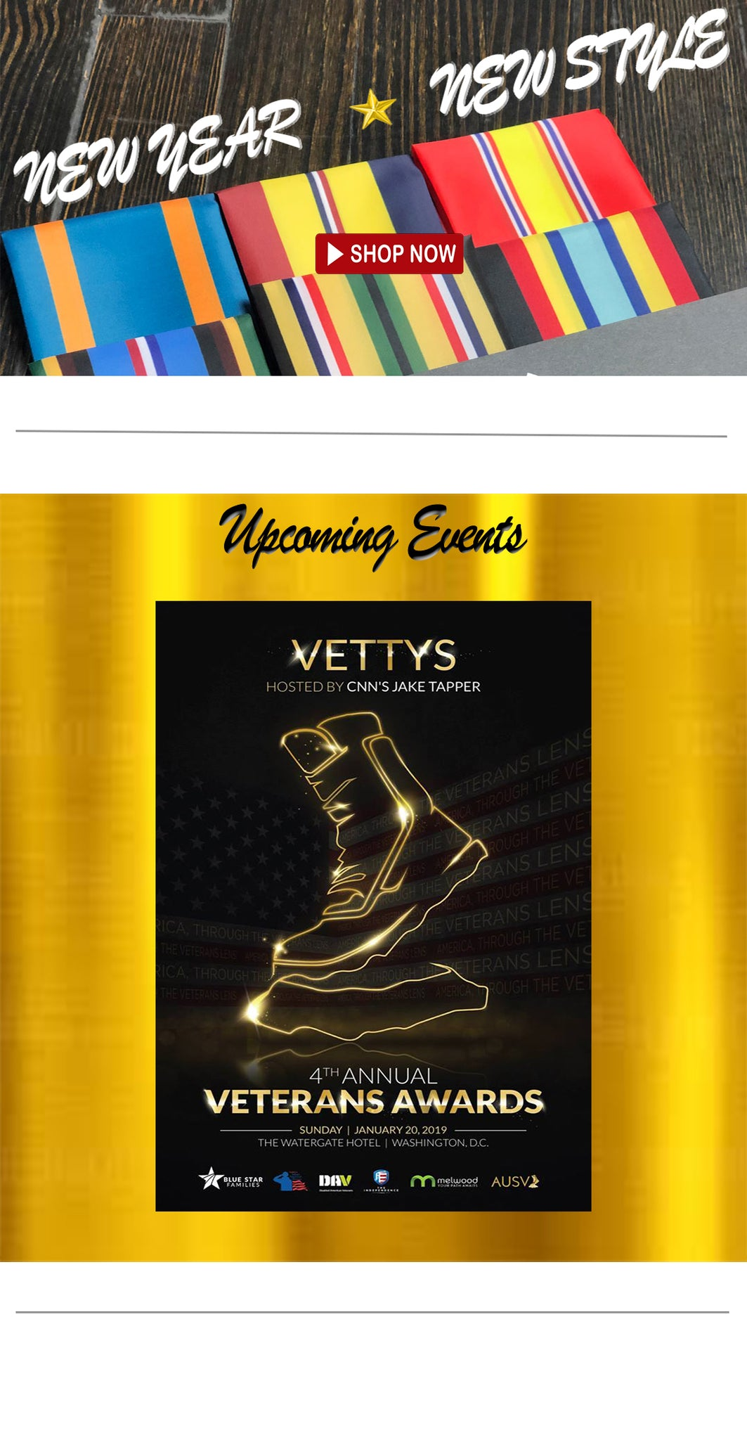 Vettys, Veteran Awards, Watergate Hotel, Washington DC