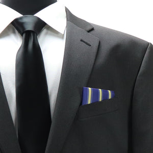 United States Air Force Colors Pocket Square Gift for military