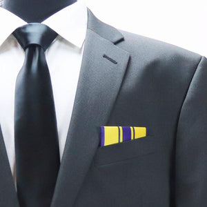 Air Force Commendation Medal Pocket Square, medals, veteran gifts, IAVA, VFW, American Legion