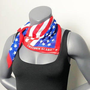 American Flag Freedom Scarf Seen on Fox and Friends