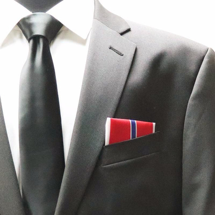 Bronze Star Pocket Square