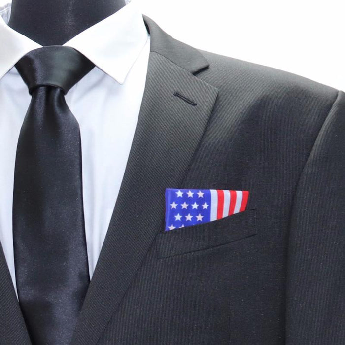 American Flag Pocket Square