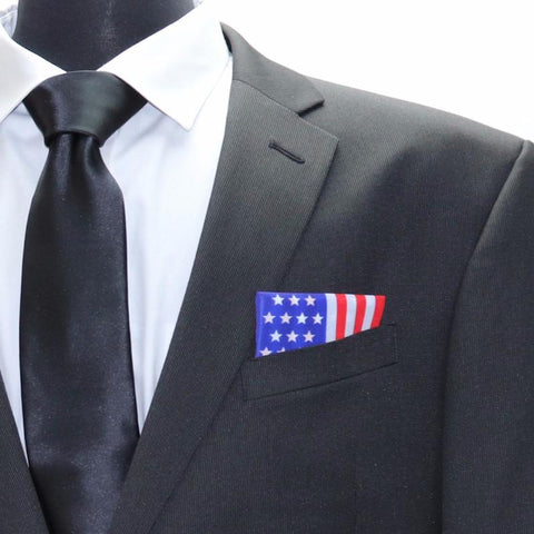 American Flag Pocket Square Heroes patriotic gifts
