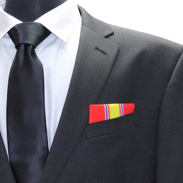 National Defense Service Medal Pocket Square