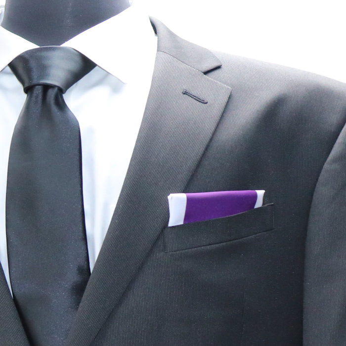 Purple Heart Pocket Square