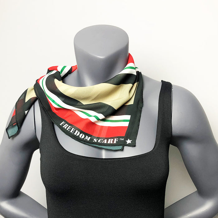Freedom Scarf Iraq Campaign OIF