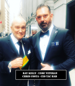 Ray Kelly USMC Veteran NYPD Pocket Square Heroes