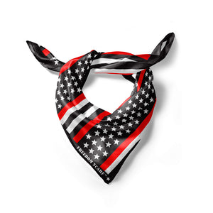 Red Line Firefighters Freedom Scarf