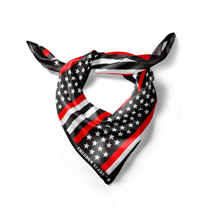 Red Line American Flag Freedom Scarf - PRE-ORDER