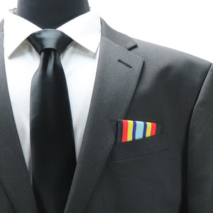 Sea Service Deployment Ribbon Pocket Square - Navy Marine Corps