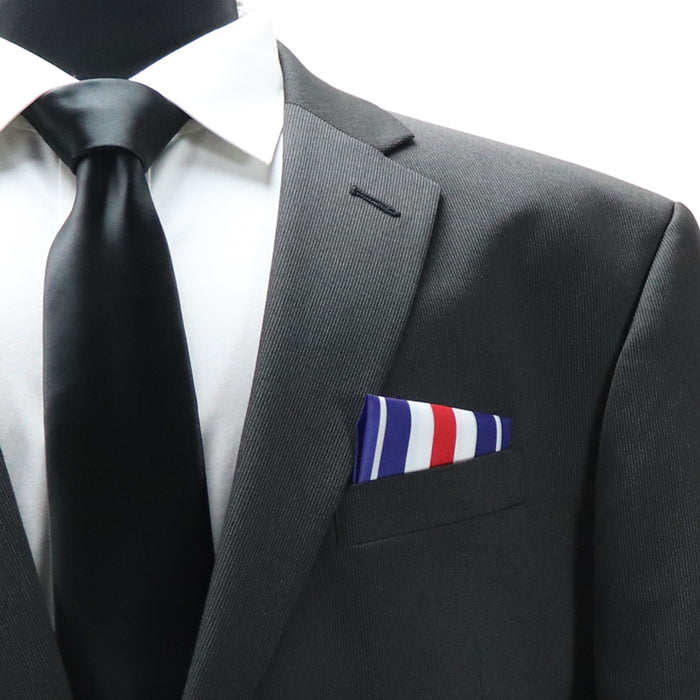 Silver Star Medal (SSM) Pocket Square