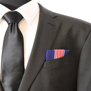 Soldier's Medal Pocket Square