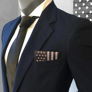 Subdued American Flag Pocket Square